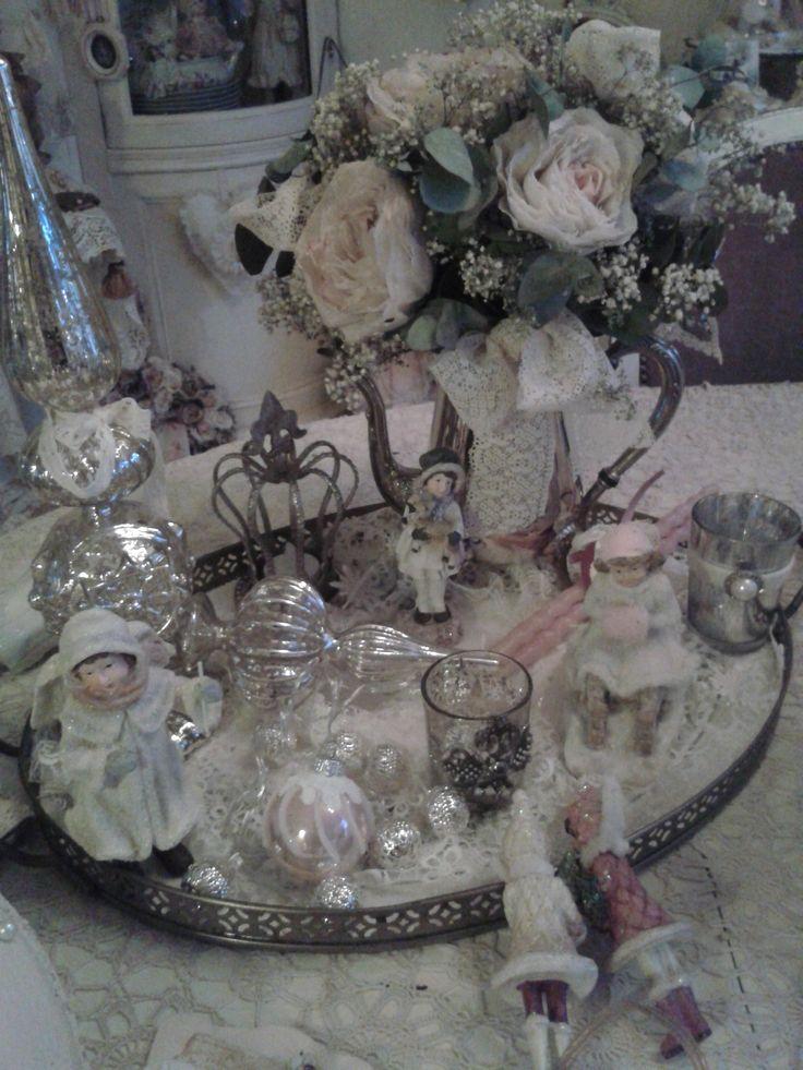 Dienblad vol met kerst... Nelleke V
