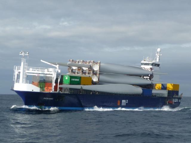 """Buque: """"OCEANIC"""". Año de construcción: 2012. IMO: 9624550. DWT: 2989 m. Propietario: Eigenaar Oceanic Seatrade C.V., Urk. Operador: Beheer Global Seatrade, Urk. Dimensiones: Eslora 92.9 m. Manga 14.75 m. Calado 4,90 m. Potencia motor: 1.630 CV. Velocidad: 13 nudos. Identificativo: PBYH. Bandera: Holanda."""
