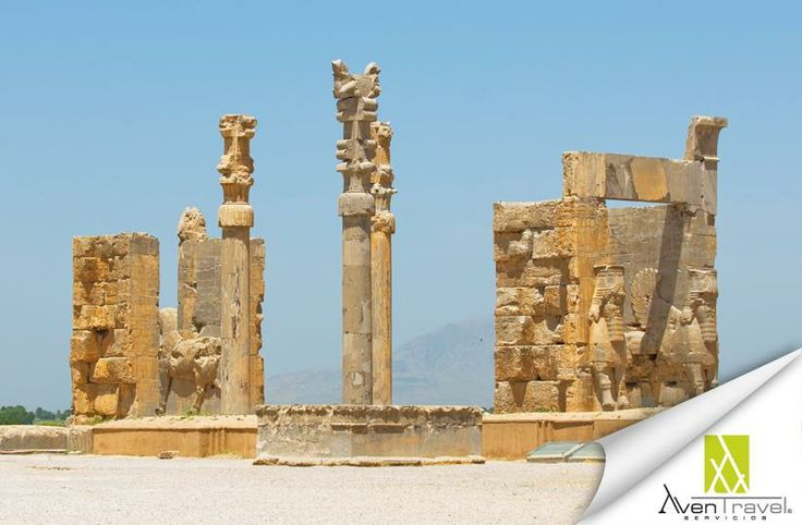 Ruinas de la antigua ciudad de Persepolis. Conoce su historia www.aventravel.com