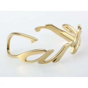 Cartier Motif Charm Bracelet in Yellow Gold