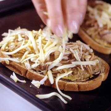 German-Style Pork Sandwiches