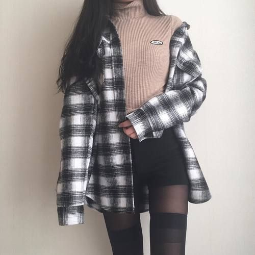outfits grunge aesthetic korean outfit ig clothes ulzzang korea stonexoxstone date soft south