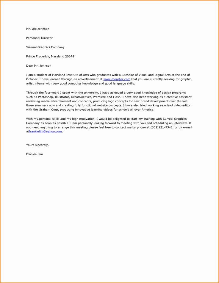 Plain Text Resume Template Elegant Plain Text Cover Letter