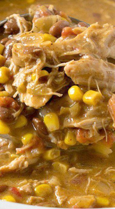 Slow Cooker Tex-Mex Chicken Stew