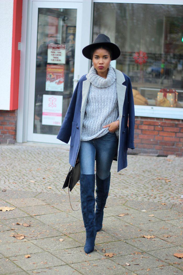 outfit rollkragenpullover kombinieren anziehsachen pinterest outfit