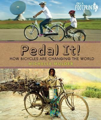 Pedal It! celebrates the humble bicycle--from the very first boneshakers to the sleek racing bikes of today, from handlebars to spokes to gear sprockets--and shows you why and how bikes can make the world a better place.