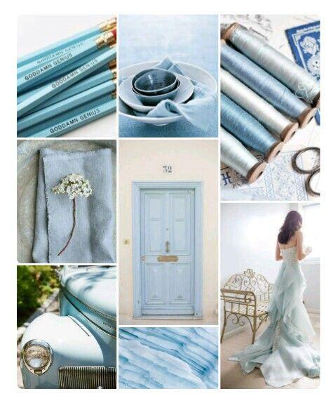 Pale blue.....
