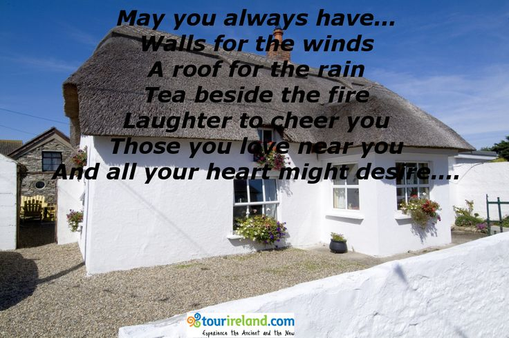 an irish blessing for a new home irish blessings