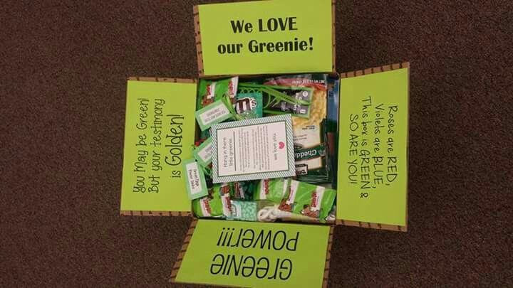 Greenie package idea
