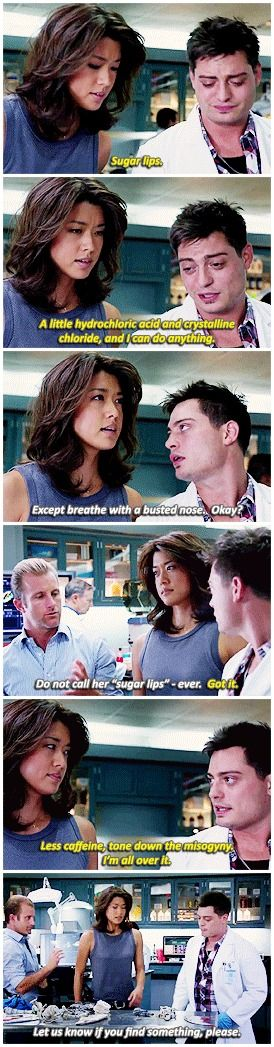 #HawaiiFive0 must have her hair cut!!!