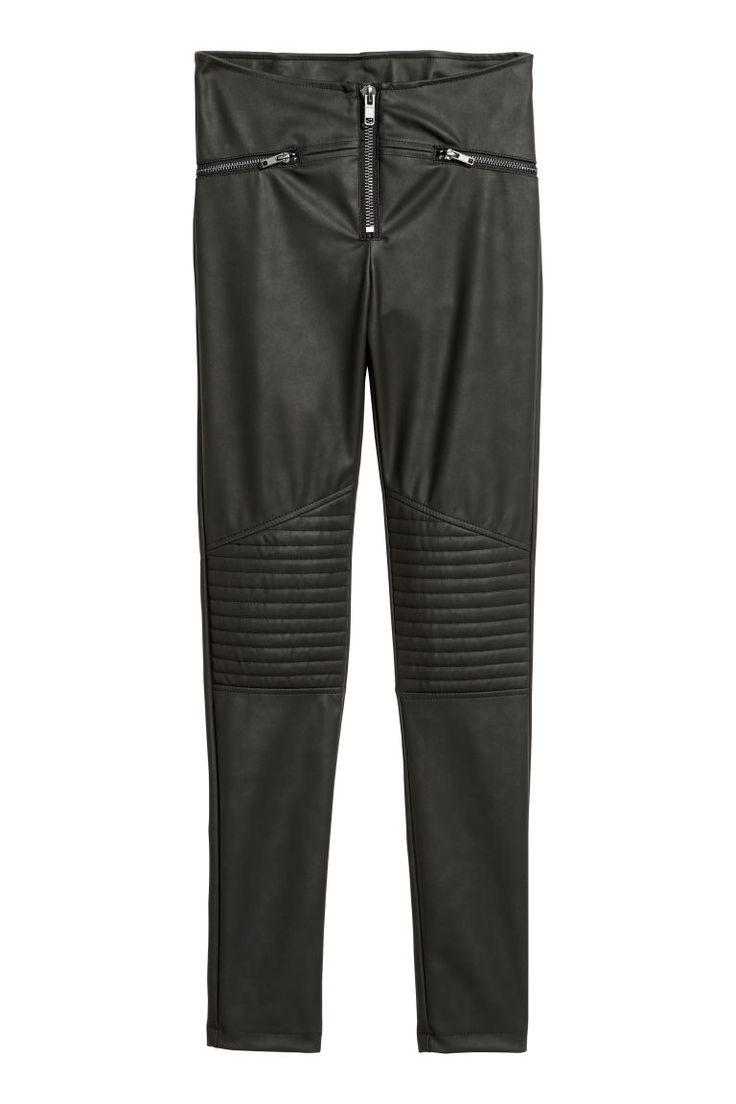 Biker leggings - Black - Ladies | H&M 2