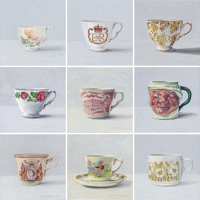 From Joël Penkman's wonderful 100 Teacups.