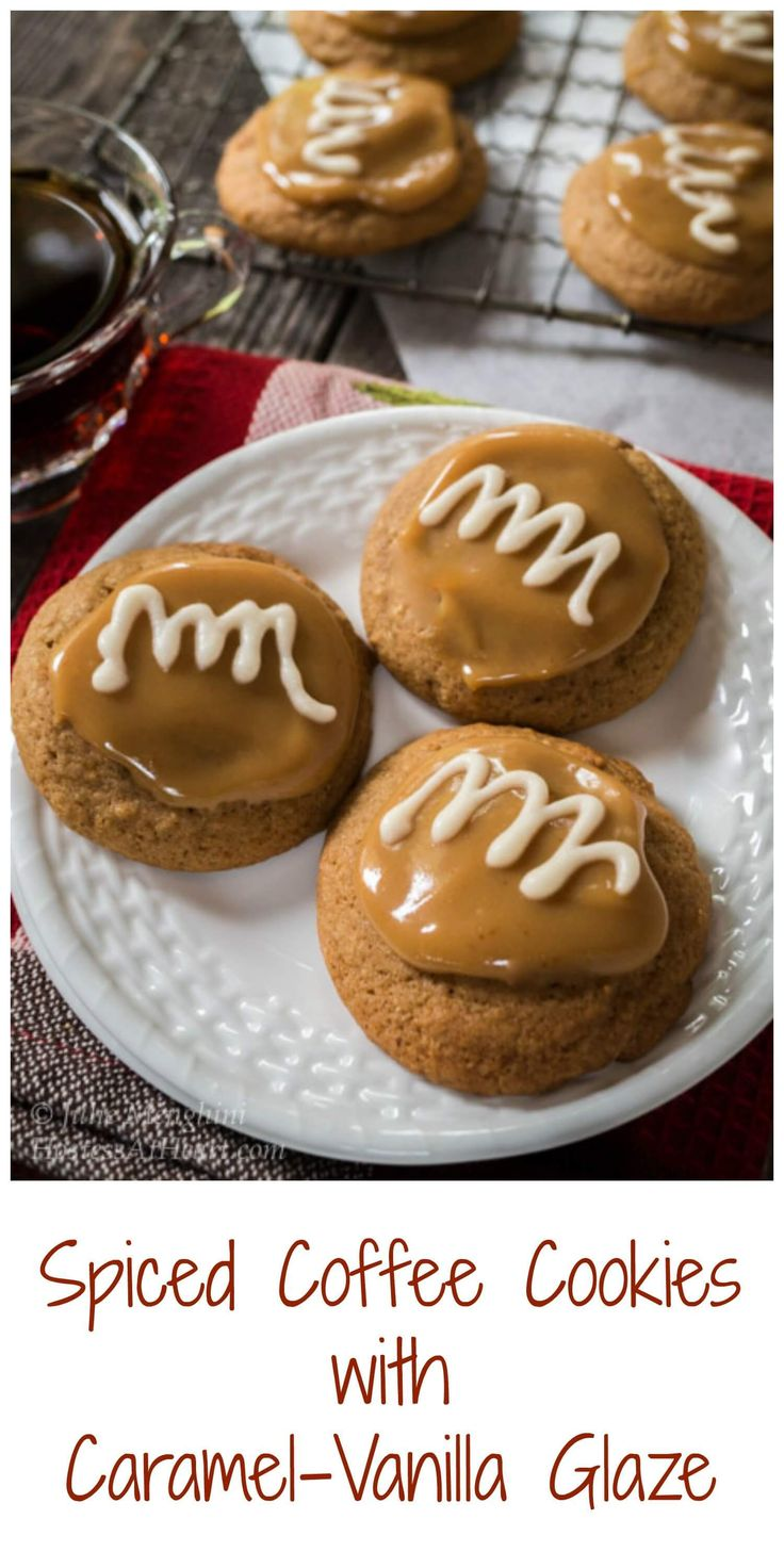 Spiced Coffee Cookies | Hostess At Heart