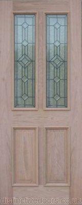 Manor oak door