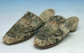 Shoes worn by Queen Anne Boleyn, Queen Elizabeth I's mother