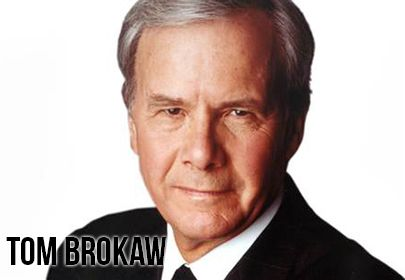 """A Personal Peabody Award goes to Tom Brokaw, author, journalist and anchor emeritus of 'NBC Nightly News,' for his ongoing history of thoughtful reporting, enterprise and good humor."" - 2013 winner citation for Tom Brokaw's Personal Peabody Award"
