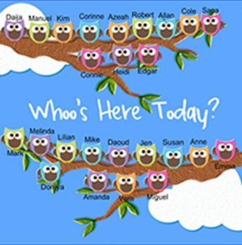 Owl Themed Classroom Bulletin Board   Owl Themed Morning Message and Routine SMART Board!