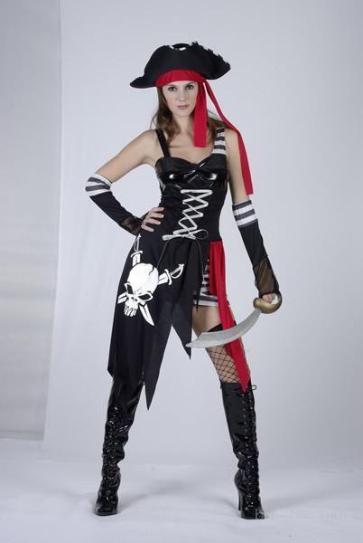 Вечеринка костюм пиратки