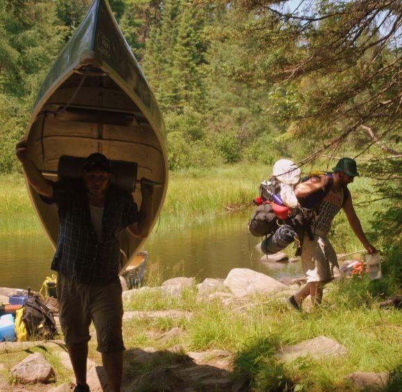 Ontario Park Bungalow Blog: Portaging The Massasauga Provincial Park