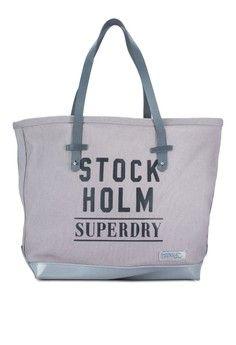 Wanita > Tas > Shoulder Bag > The Stockholm Tote > Superdry