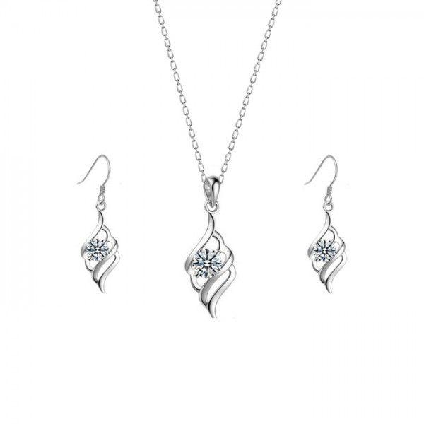 Sevgili modeli gümüş set | gs001