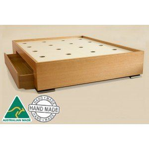 Tropez Custom Timber Storage Bed Frame Get a quote for the timber Tropez now. Ask us if your preferred stain is available.