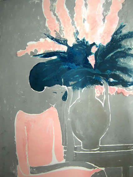 Andre Brasilier b.1929, French painter