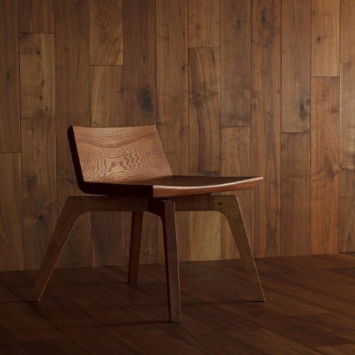 Wood Low Back Chair