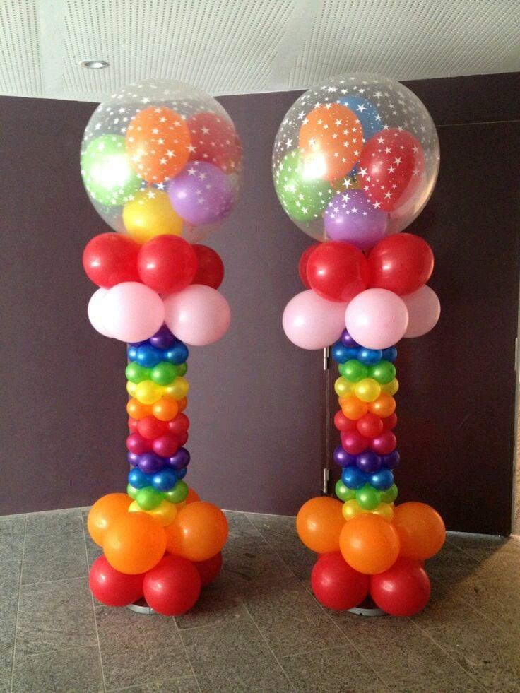 Aprende esta técnica para hacer columnas de globos tu mismo y ahorrarás mucho dinero en tu próxima fiesta. No necesitas usar ninguna herra...