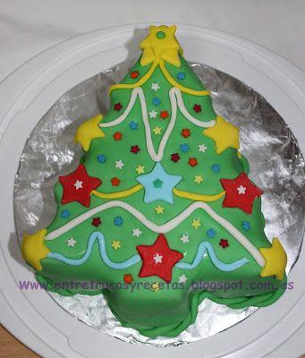 Entre trucos y recetas: Tarta Arbol de Navidad (paso a paso).