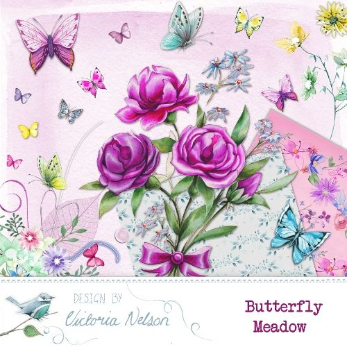 Butterfly Meadow By Victoria Nelson