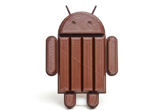 3D Printed Android Candy Figure by PixelandPrint on Etsy, $15.00