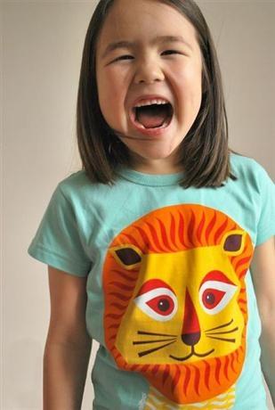 Coq en Pâte Tee - Mibo Lion, Children's Clothing Online - $29.95