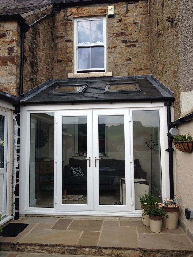 25 best ideas about small conservatory on pinterest for Conservatory doors exterior