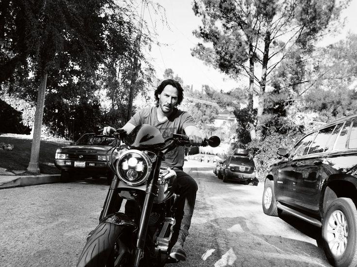 Модель: Keanu Reeves Фотограф: Simon Emmett Журнал: Esquire, March 2017