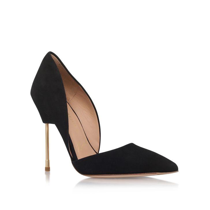 Bond Black High Heel Court Shoes By Kurt Geiger London   Kurt Geiger