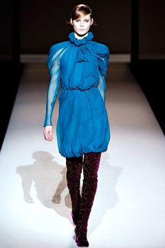 Jazz Blue, Fashion Weeks, Ferretti F11Rtw, Alberta Ferretti, Fashion Boards, 2011 Readytowear, Ferretti Fall, Ferretti 20112012, Fall 2011
