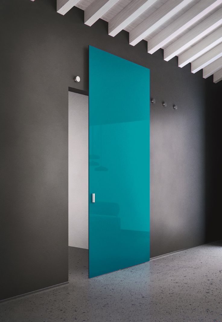Una porta del genere, può essere un ottimo elemento di design per chiudere la cabina armadio (eventualmente con effetto specchio)