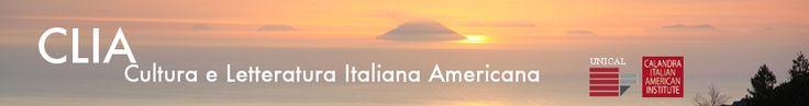 CLIA - Cultura e Letteratura Italiana Americana