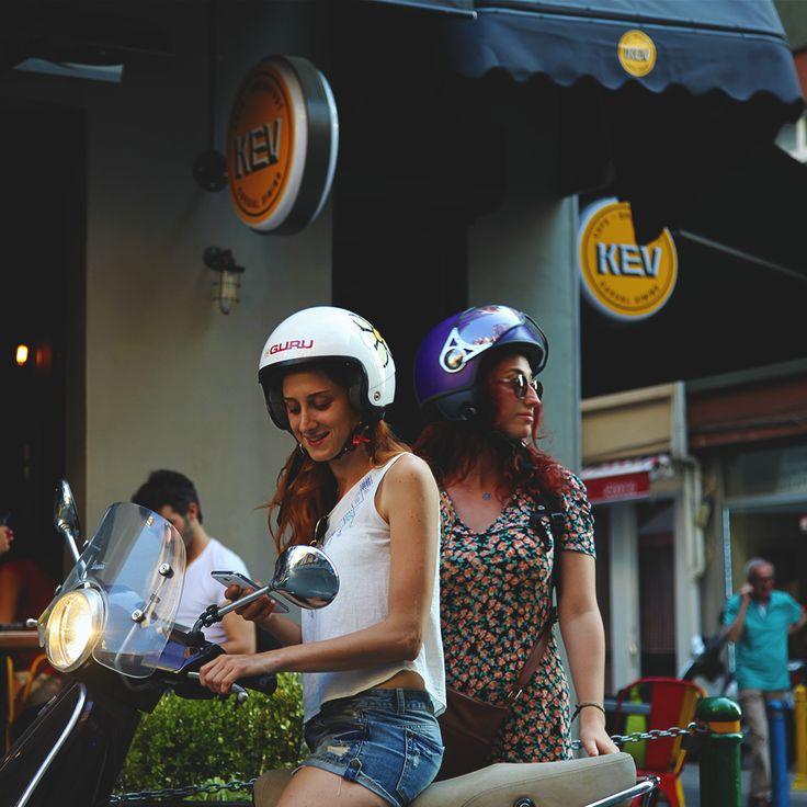 Pazar akşamüstü, son durak. #KevCafe #Moda #Kadikoy #Motorcycle