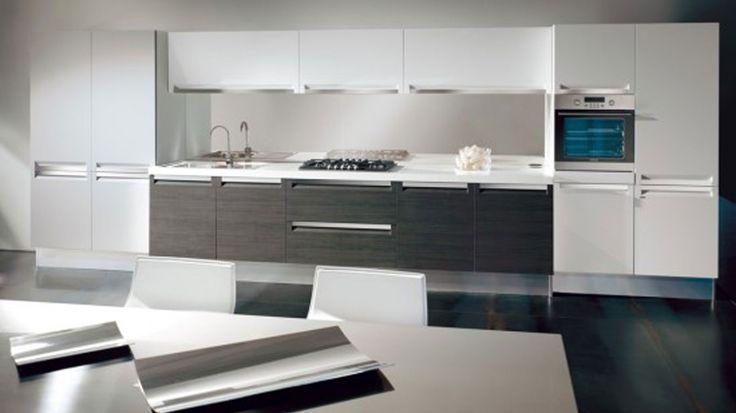 white modern kitchens - Google Search