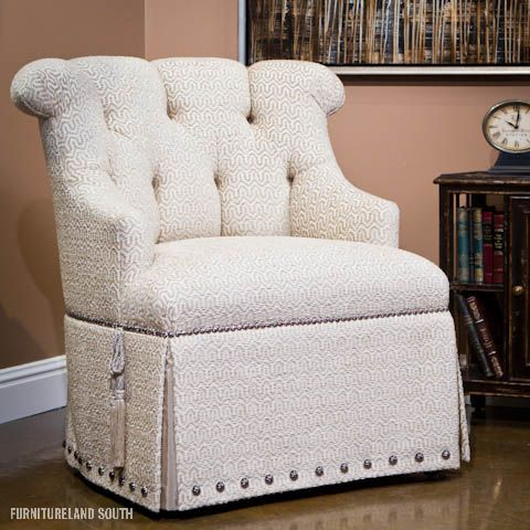 Marge Carson Bacall Tufted Chair