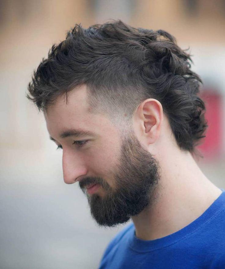 Beard Styles For Boys Beard Styles For Boys Men Grooming Beard Styles For Boys Men Grooming In 2020 Lockiges Haar Manner Vokuhila Frisur Barte Und Haare