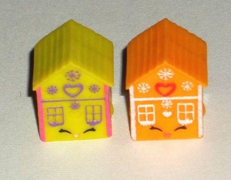Shopkins Season 3 GINGER FRED SET green & orange variant Mint! Moose toys  #shopkins #gingerfred