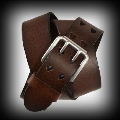 Aeropostale レディース ベルト エアロポステール Heart Leather Belt レディース ベルト-アバクロ 通販 ショップ-【I.T.SHOP】 #ITShop