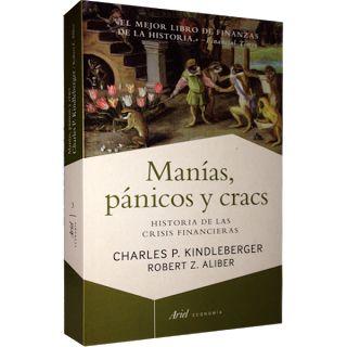 Libros de Economia (Micro y Macroeconomia): LIBRO: MANIAS PÁNICO  CRACS (Charles Kindleberger)...