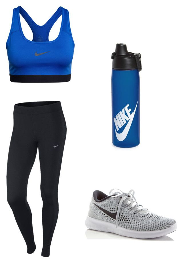 """Untitled #14"" by hongjina on Polyvore featuring NIKE"