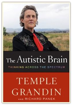 Temple Grandin is sort of an autistic celebrity who would much rather be a livestock celebrity (and is). The bio HBO did on her was pretty spot on as far as life with autism is like for me.