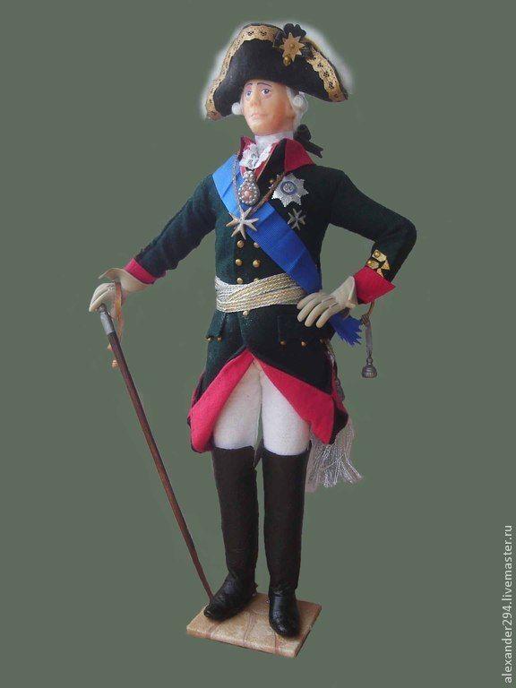 Купить Император Павел I - император, коллекция, мундир, шарф, шляпа, трость, ордена, лента