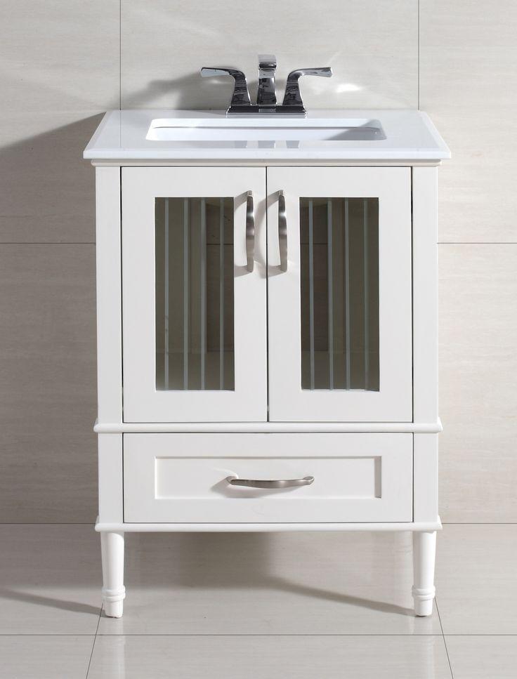 Kendra 25 Vanity Set With Marble Top Wayfair Bathroom Pinterest Marble Top Tops And